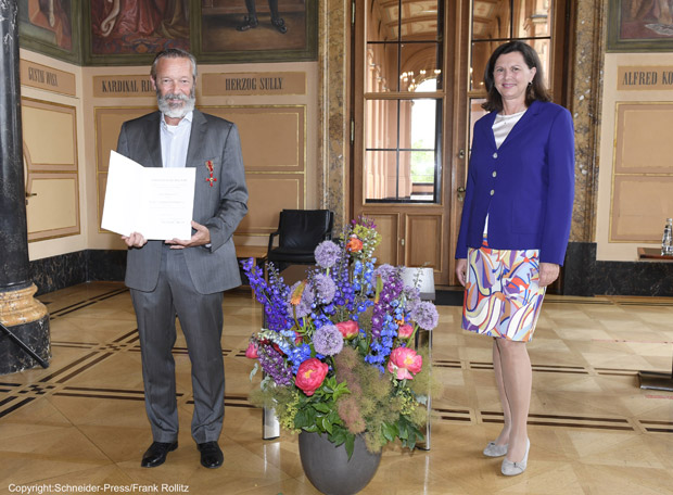 Bundesverdienstkreuz für Michael Roll